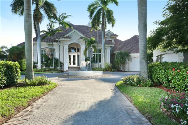 Street View of this Elegant Oceanview Residence - 1351 Caxambas Ct - Marco Island - rentals