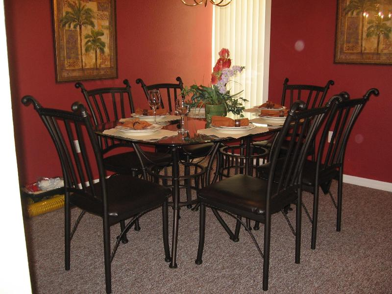 dining room - 3bd. 2ba condo 6mi to DisneyWorld  Handicap Access - Kissimmee - rentals