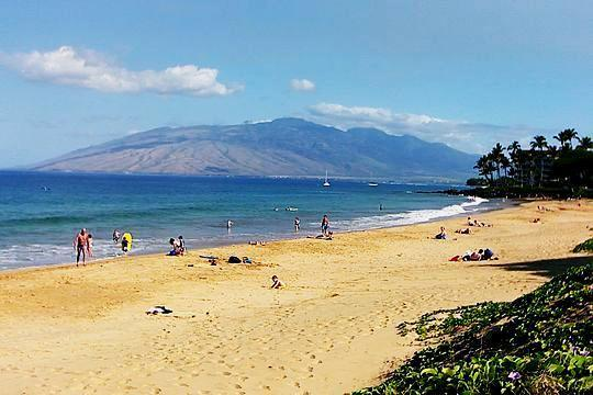 You're a one-minute walk from this gorgeous beach. - Budget-friendly Maui Beach Headquarters for Two - Kihei - rentals