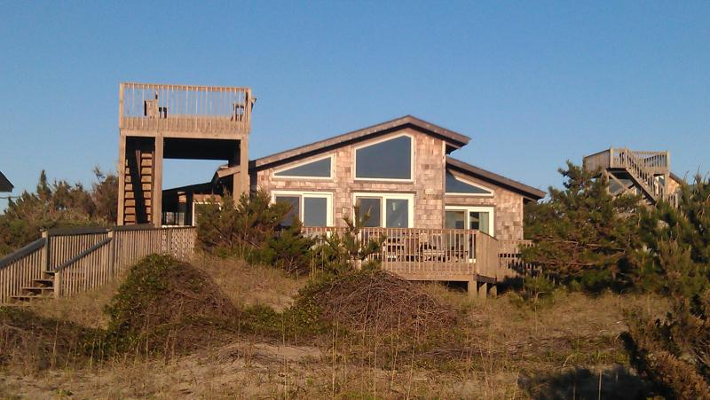 Boat House II, Oceanside view - Oceanfront Cottage in Avon, NC - Avon - rentals