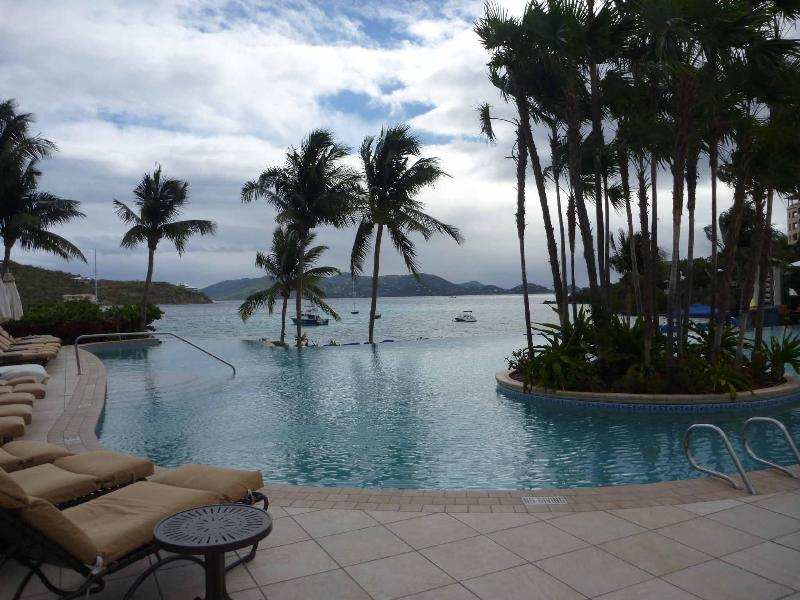 Infinity Edge Pool Overlooking Great Bay - **Ritz Carlton Oceanfront - Great Rates & Service - Lots of Availability** - Saint Thomas - rentals