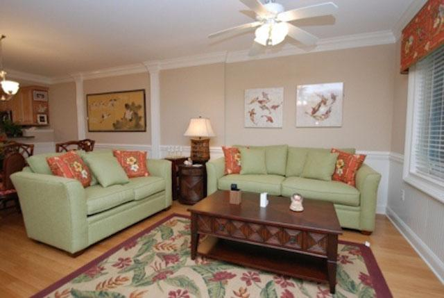 Livingroom - Paradise 315 - prices listed may not be accurate - Tybee Island - rentals