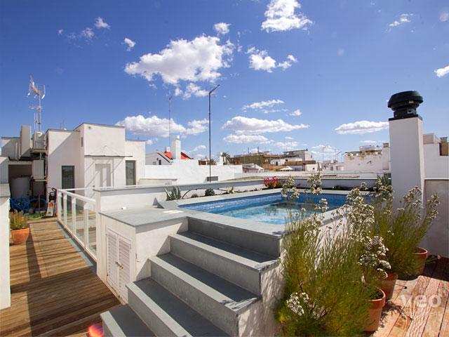 Wonderful private terrace with pool. - Teodosio Terrace | Superior duplex with pool - Seville - rentals