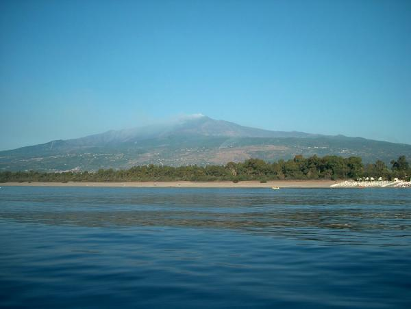 Etna seen from the sea - B&B Pegasus - Fiumefreddo di Sicilia - rentals