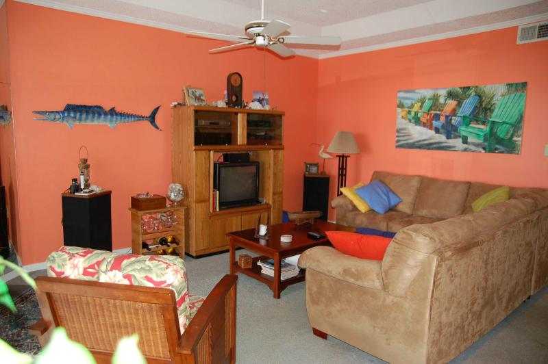 Living room. - Our Place at the Beach-Reserving Summer 2016 now! - Ocean City - rentals