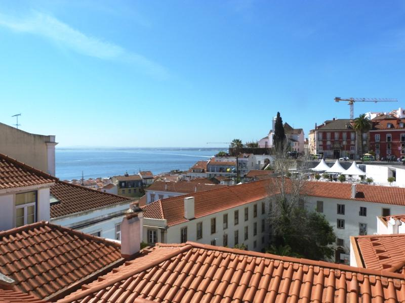 One of the best views of Lisbon. Period. - SAO VICENTE II, panorama view from french balcony - Lisbon - rentals