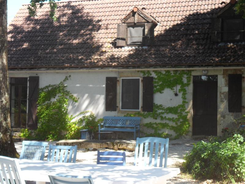 The gite with outside dining area - Farmhouse for 8 with pool in Dordogne valley - Cazillac - rentals