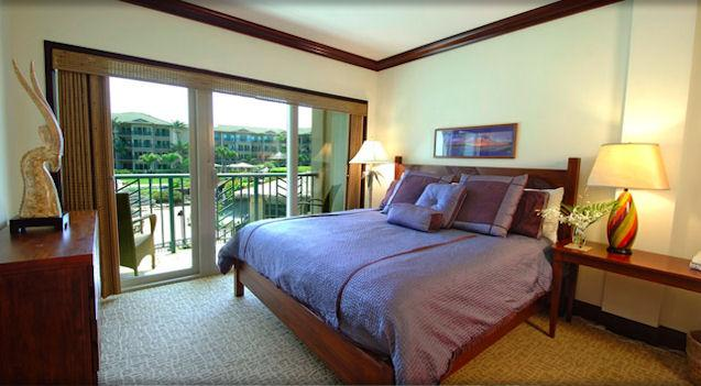 Master Bedroom - King - Waipouli Beach Resort A201 - Kapaa - rentals