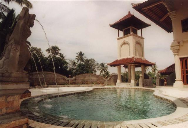 Luxury - huge marble pool with shallow area for children - Villa Paradise, A/C,WiFi, Private Pool, Nice Views - Ubud - rentals