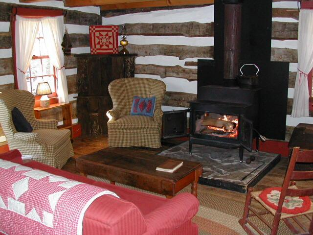 Three Sisters Log Cabin - Image 1 - Montebello - rentals