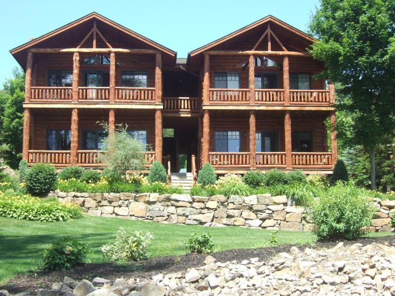 Front of the Lodge - Lodges at Cresthaven - Lake George - rentals