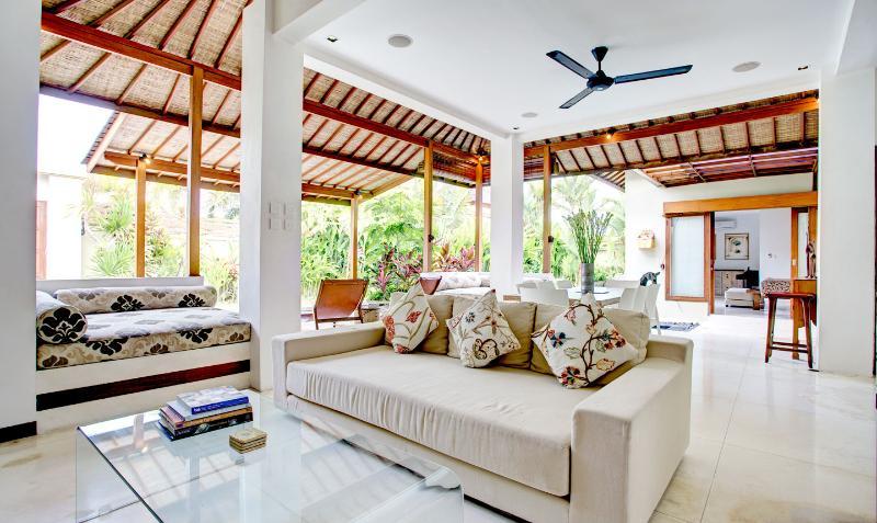 TV/living area - Villa Shanti - elegant, chic, Seminyak villa - Seminyak - rentals