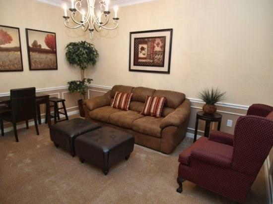 Living Area - VC3C4840CD-104 3 BR Condo with Modern and Stylish Interiors - Orlando - rentals