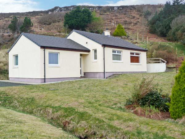 TAIGH AN TOBAIR (HOUSE BY THE WELL), detached cottage, with stunning views, woodburning stove, and garden, in Colbost, Ref 14611 - Image 1 - Dunvegan - rentals
