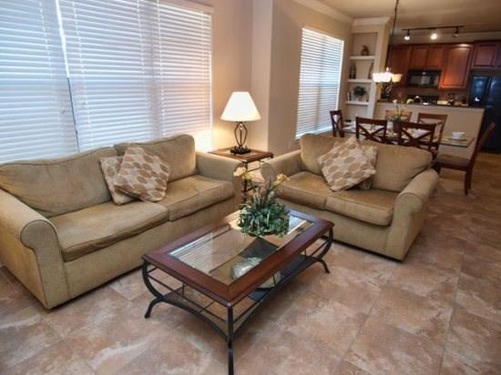 Living Area - BP3C903CP-817 3 BR Condo Home Close to Famous Parks - Orlando - rentals