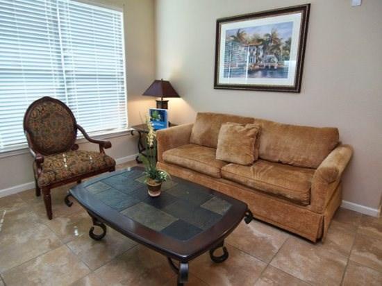 Living Area - BP3C904CP-522 3 Bedroom Condo Home in Bella Piazza Community - Orlando - rentals