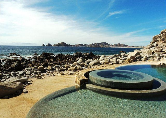 View from Terrace - Casa Luna - Last Minute December Special Down to $2,500 from $3,800 - Cabo San Lucas - rentals
