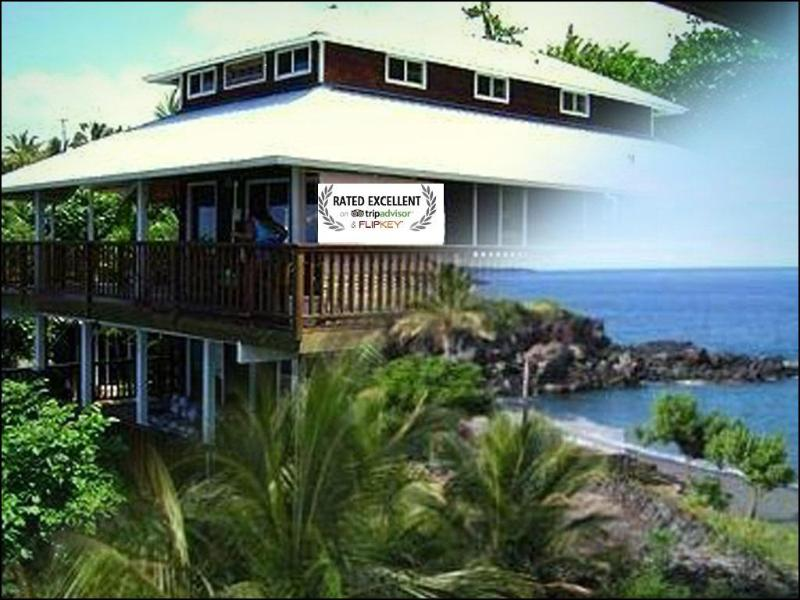 Beautiful AWARD WINNING VACATION RENTAL for 2012- Sweeping Ocean Views & EXTRA Ohana Suite! - DISCOUNT RATES! COASTLINE VIEWS! 2 Min. to BEACH! - Captain Cook - rentals