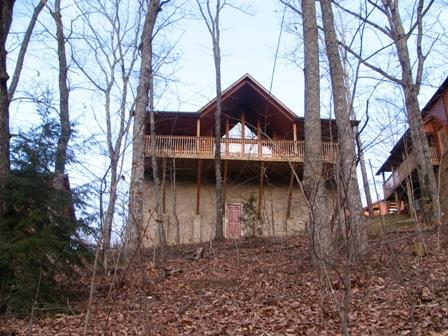 Leisure Time a 2 br cabin in Hidden Springs - Image 1 - Pigeon Forge - rentals