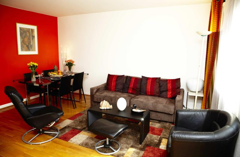 Living Room view 1 - Charming, Centrally Located Apartment with 1 Bedroom - Paris - rentals
