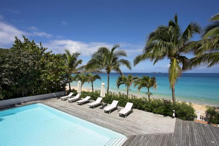 Luxury 8 bedroom St. Barts villa. Located on Flamands beach! - Image 1 - Flamands - rentals