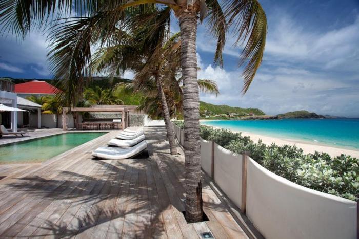 Luxury 6 bedroom Flamands villa. Private beachfront property! - Image 1 - Flamands - rentals