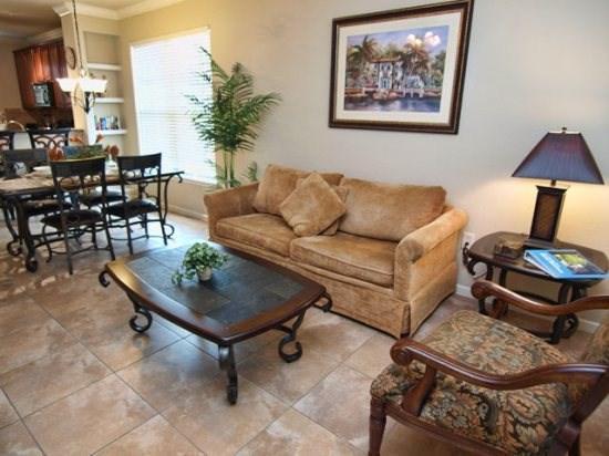 Living Area - BP2C903CP-831 2 BR Condo Home close to Disney Attractions - Orlando - rentals