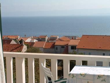 Zeleni(2+2): balcony view - 5345 Zeleni(2+2) - Bol - Bol - rentals