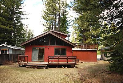 Exterior from Back of Home - 1631 Skyline Drive - South Lake Tahoe - rentals