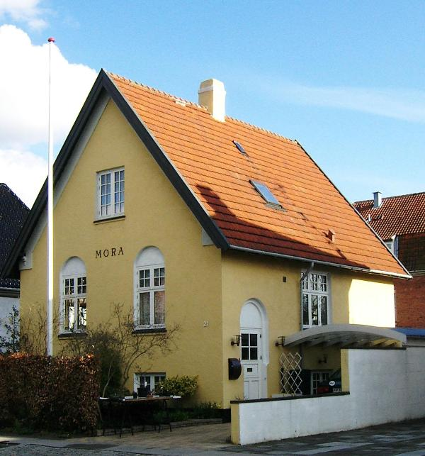 The house - seen from the street - Spacious Bed&Breakfast, Copenhagen, close to city center - Copenhagen - rentals