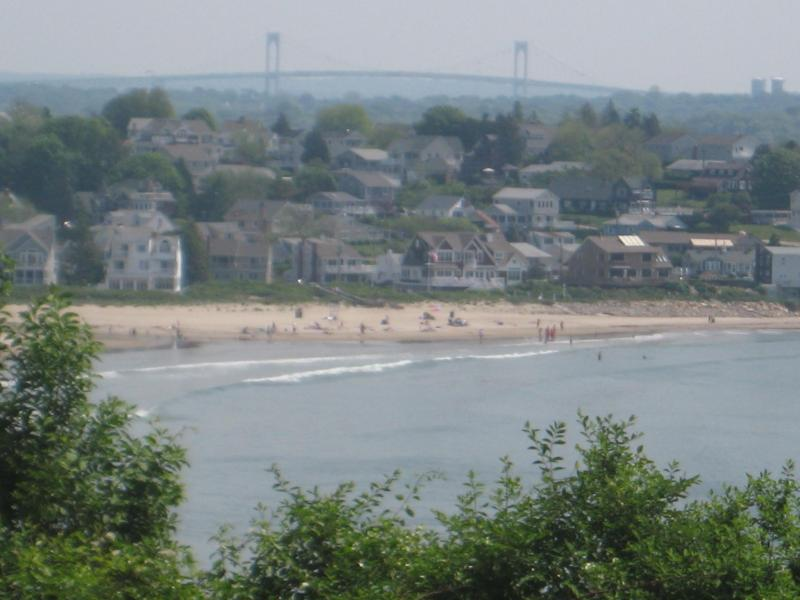 Beach View from Deck - Beautiful House by the SEA with OCEAN/BEACH Views - Narragansett - rentals