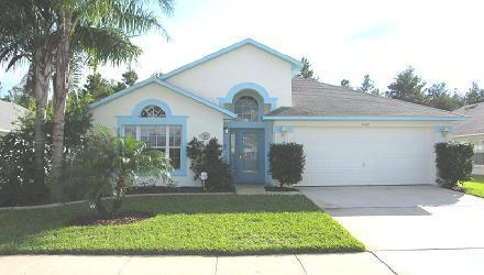 Front View - Luxury 4 Bedroom Villa w/pool, 2 Miles from Disney - Kissimmee - rentals