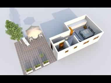 A1(6+1): floor plan - 5368 A1(6+1) - Sutivan - Sutivan - rentals
