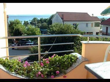 SA1(2): terrace view - 5371 SA1(2) - Privlaka - Privlaka - rentals