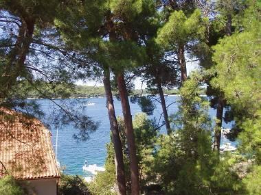 A2(2): terrace view - 5400  A2(2) - Mali Losinj - Mali Losinj - rentals