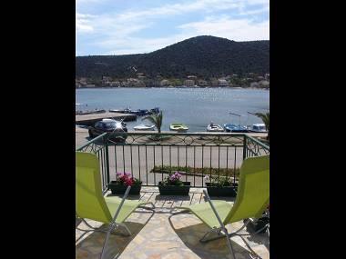H(4+1): balcony view - 5327 H(4+1) - Vinisce - Vinisce - rentals