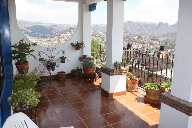 2nd floor balcony - Great House with Panoramic views, house or B&B - Guanajuato - rentals