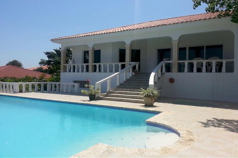 Beautiful ocean view villa close to town - Image 1 - Sosua - rentals