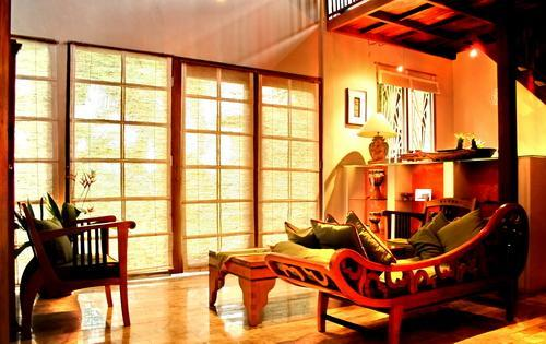 Living room - 2 bedroom villa, great location, nature view! - Ubud - rentals