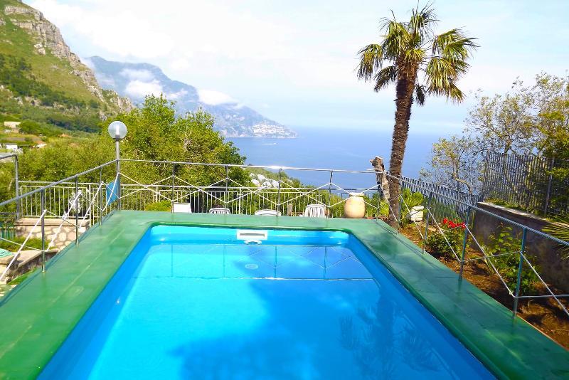 Swimming Pool of Villa del Pino - Ground floor Villa between Sorrento and Amalfi - Piano di Sorrento - rentals