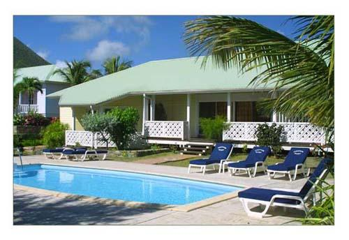 Esmeralda Resort...French St Martin...Orient Beach Hotel - ESMERALDA RESORT...PLANTATION STYLE BEACH FRONT RESORT IN ST MARTIN...ON ORIENT BEACH...17 VILLAS EACH WITH SEMI PRIVATE POOL - Saint Martin-Sint Maarten - rentals