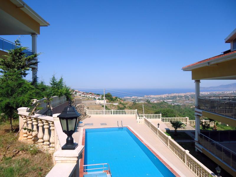 2 bedroom condo: garden, pool and magnificent view - Image 1 - Kargicak - rentals
