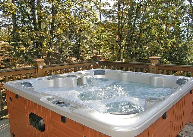 Hot Tub - Sunrise Retreat on 160 private acres - Hathaway Pines - rentals