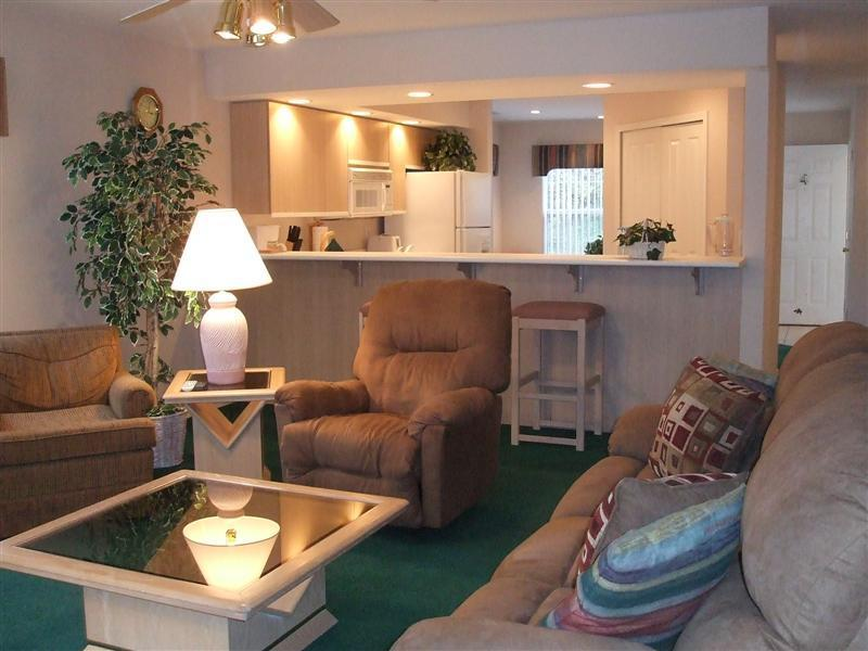 Comfortable Living Room - Fisherman's Delight * Lakefront * Next to Marina - Branson - rentals