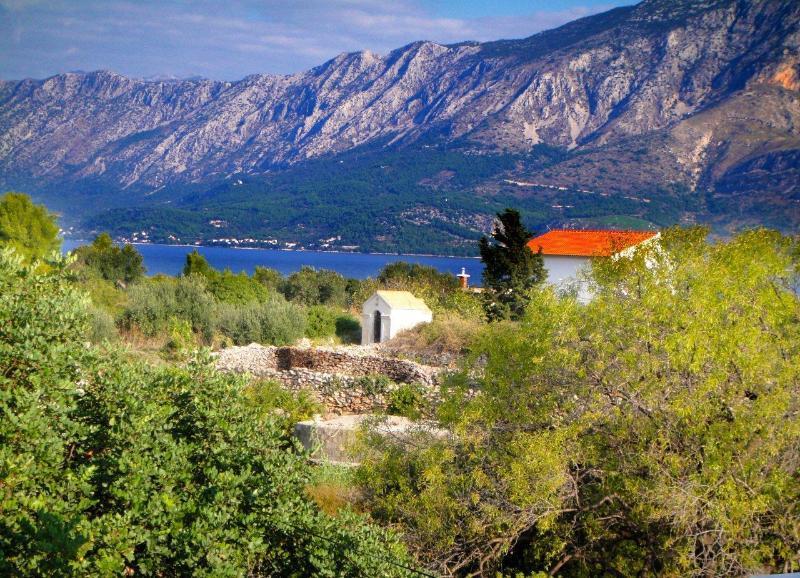 View from Villa Palma - Villa Palma Apartment 1 - Hvar, Sucuraj - Island Hvar - rentals