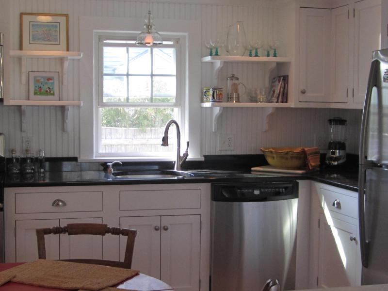 Updated cottage style kitchen with dishwasher. - Awarded Top Vacation Rental by FlipKey - West Yarmouth - rentals