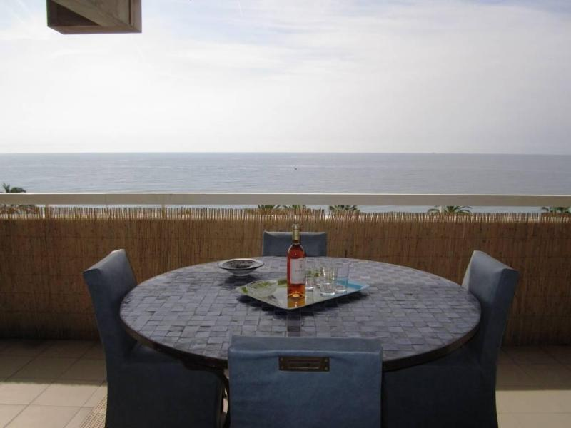 wonderful 4 beds flat,sea view, terrace, wifi,ac - Image 1 - Nice - rentals