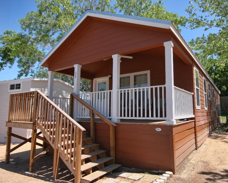 porch of Frio - 2 bedroom cottage near Schlitterbahn - Sleeps 8 - New Braunfels - rentals