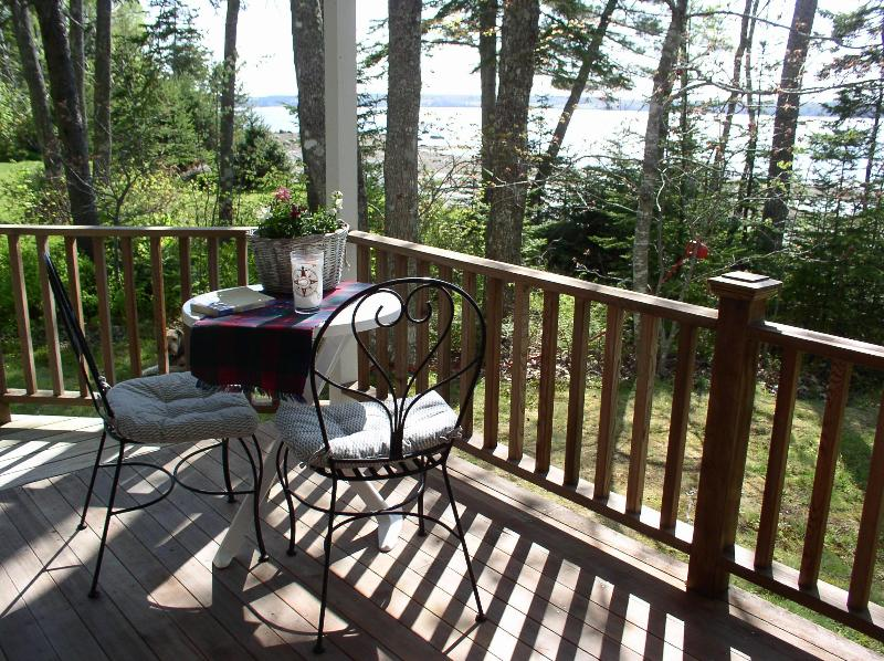 Sun, a book and a cool drink on the porch - Acorn Cottage       Cozy 2 bedroom cottage - Trenton - rentals