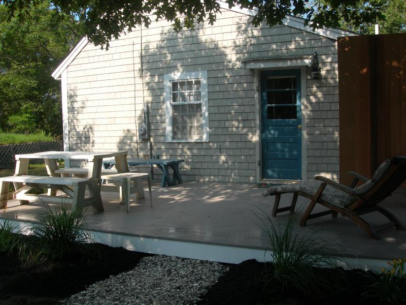 Relax on the New Deck/Outdoor HW Shower - Spacious cottage steps to Cooks Brook Beach! - Eastham - rentals